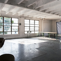 Renting out: L.A. Large Natural Light Stage with Red Deco Wall