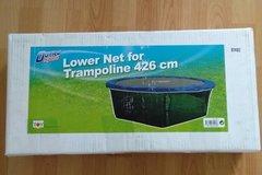 Myydään: Lower net for trampoline, 426cm