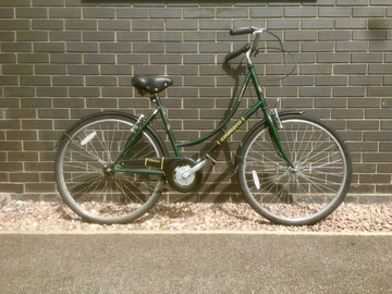 Renting out: Green Dutch Bike