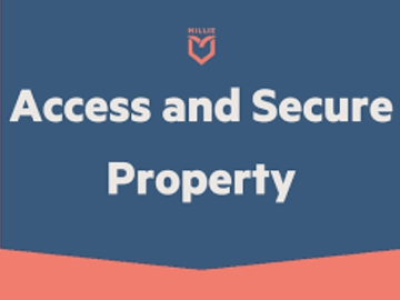 Task: Access & Secure Property