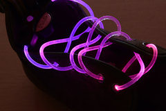 Sell: 100 New LED Light Up Shoe Laces With Flashing Mode MSRP $500