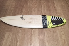 "Daily Rate: Rusty 5'10"" Thruster with FCSII Fins"