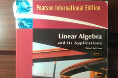 Annetaan: Linear Algebra by David C. Lay