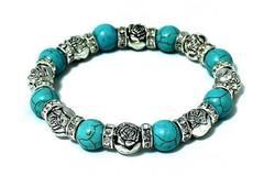 Sell: Simulated Turquoise Bracelets - Fashion Jewelry - 150 Units