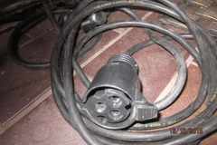 Myydään: Block heater cable for car (2 meters)