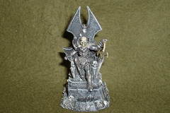 Selling: Undead Liche Lord seated on Throne.(30mm scale).Painted.