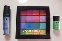 Venta: Nyx Ultimate Brights+ Nyx Pigmento + Nyx Roll on Shimmer