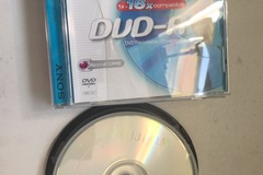 Selling: DVD-R & CDR never used