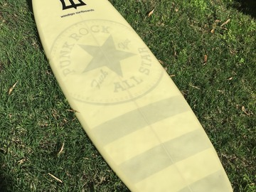 "For Rent: 5'10"" Windigo Asymmetric Barry Snyder Snub Nose"