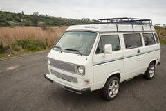 Renting out per day: 1984 Volkswagen Westfalia Camper