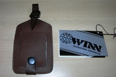 Sell: 200 Cowhide Napa Leather Security I.D. Luggage Tag