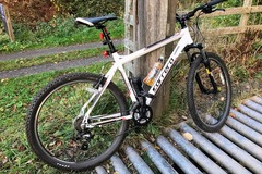 Renting out: 2015 Carrera Valour MTB (White)