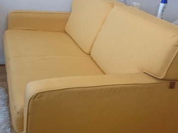 Annetaan: Yellow sofa-bed (convertible sofa)
