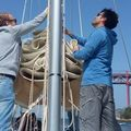 Rent per 2 hours: Team building - Sail workshop