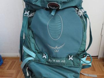 Vuokrataan (yö): Osprey Aura AG 65