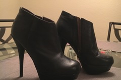 Selling: Black Leather Bootie
