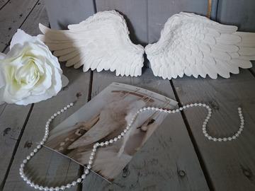 Vente au détail: Ailes en plâtre pour décoration shabby