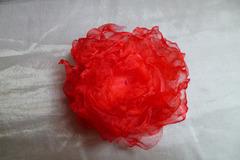 Vente au détail: Broche fleur coquelicot