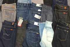 Sell: Seven for all Mankind mens Denim Jeans assortment 10pcs