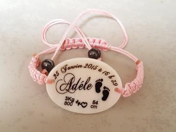 Vente au détail: Bracelet naissance