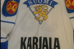 Selling: New Suomi Karjala new Hockey T-shirt xl size