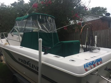 Offering: Boat Canvas Fabrication and Repair - Big Bend FL