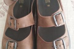 Myydään: sandals, size 45, 10e