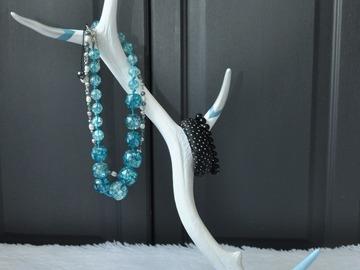 porte bijoux en bois de cerf creachic. Black Bedroom Furniture Sets. Home Design Ideas
