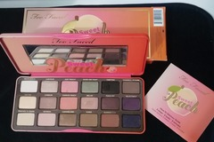 Venta: Paleta Sweet Peach Too faced (reservada Pepi)