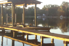 Offering: Dock Builds, repairs, and boat lift service