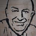 Vente au détail: Portrait personnalisé en bois découpé