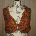 Vente au détail: Chauffe épaule châle poncho tour de cou tricot