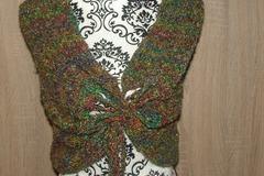 Vente au détail: chauffe épaule châle  poncho   tour de cou tricot  taille un