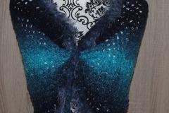 Vente au détail: chauffe épaule châle  poncho top tour de cou tricot  taille