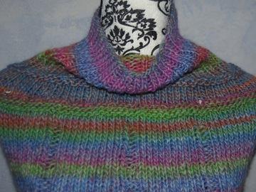 Vente au détail: chauffe épaule châle  poncho TOUR DE COU tricot  taille uniq