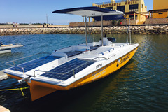 Rent per hour: 1 Hour Solar Boat Tour on the Arade River Mouth, Algarve