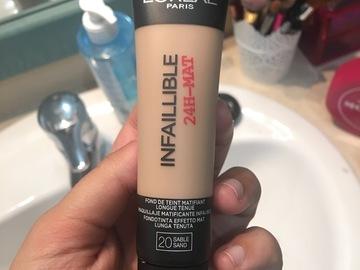 Venta: Base de maquillaje infallible