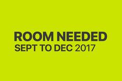 Tarvitaan: Room Needed in Otaniemi