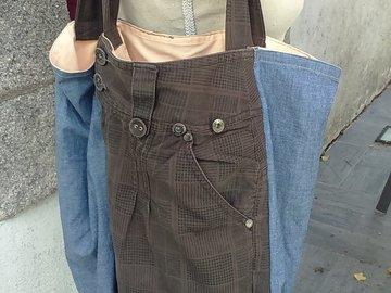 Sale retail: Sac cabas à poches pantalon chouette