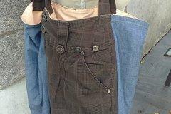 Vente au détail: Sac cabas à poches pantalon chouette