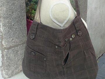 Vente au détail: Sac bandoulière pantalon