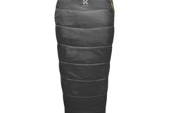 Vuokrataan (varauskalenteri käytössä): Haglös Lupus +2 190l, makuupussi + makuupussinlakana