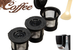 Myydään: 6 Reusable Coffee Capsule for Keurig Machine