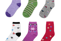 Buy Now: (360) Wholesale Assorted Style Mixed Women Causal Crew Socks