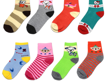 Bulk Lot: (360) Assorted Mixed Styles Children Ankle Socks Low Cut