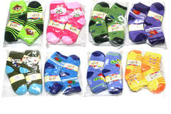 Buy Now: (360) Assorted Mixed Styles Children Ankle Socks Low Cut