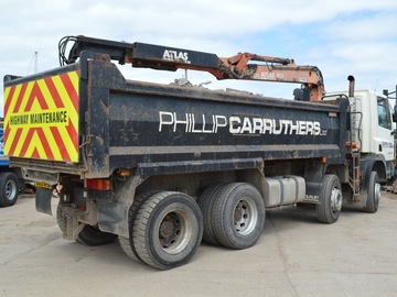 Daily Equipment Rental: DAF CF Grab Wagon