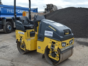 Daily Equipment Rental: Bomag 80 Twin Roller