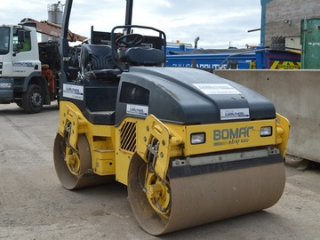 Daily Equipment Rental: Bomag 120 Twin Roller