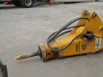 Daily Equipment Rental: JCB Hammer Master 360Q Hydraulic Hammer